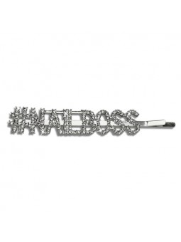 HAIRCLIPS - NAILBOSS silver 1ks