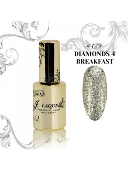 J - Laque ♥ 122 DIAMONDS 4 BREAKFAST 10ml