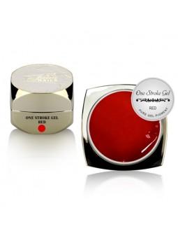 ONE STROKE Art Gel Red 5ml
