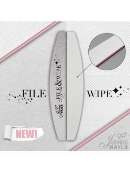 FILE & WIPE 150 gritt & cotton